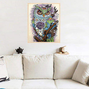 Animal Eagle Special Part Drill Diamond Painting 40X30CM(Canvas)