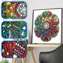 Load image into Gallery viewer, Circle Special Part Drill Diamond Painting 30X30CM(Canvas)