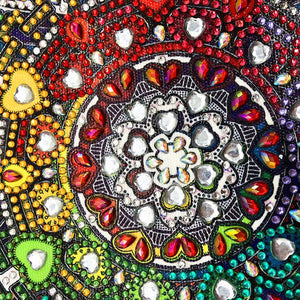 Circle Special Part Drill Diamond Painting 30X30CM(Canvas)