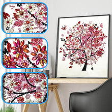 Load image into Gallery viewer, Tree Special Part Drill Diamond Painting 30X30CM(Canvas)
