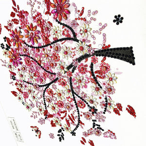 Tree Special Part Drill Diamond Painting 30X30CM(Canvas)