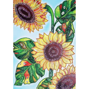 Sunflower Special Part Drill Diamond Painting 30X40CM(Canvas)
