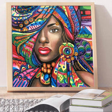 Load image into Gallery viewer, Beauty Special Drill Diamond Painting 30X30CM(Canvas)