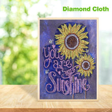 Load image into Gallery viewer, sunflower Special Part Drill Diamond Painting 34X40CM(Canvas)