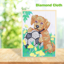 Load image into Gallery viewer, Dog Special Part Drill Diamond Painting 30X25CM(Canvas)