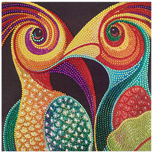 bird Special Part Drill Diamond Painting 30X30CM(Canvas)