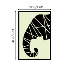 Load image into Gallery viewer, Elephant Nose Luminous Wall Sticker PVC Removable Decals Bedroom Home Decor