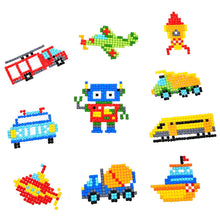 Load image into Gallery viewer, DIY Full Drill Round Cartoon Car Diamond Painting Puzzle Children Stickers