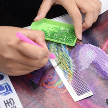Load image into Gallery viewer, Diamond Painting Paste Sticker Dotting Rhinestone Point Ruler DIY Drilling