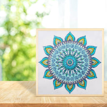 Load image into Gallery viewer, Mandala Special Drill Diamond Painting 30X30CM(Canvas)