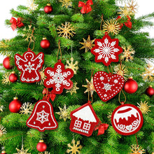 Load image into Gallery viewer, 10pcs DIY Full Drills Diamond Painting Special Shape Christmas Tree Pendant