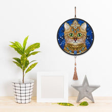 Load image into Gallery viewer, Cat Diamond Painting Coffee Tassels Special Shape Partial Drills Home Decor