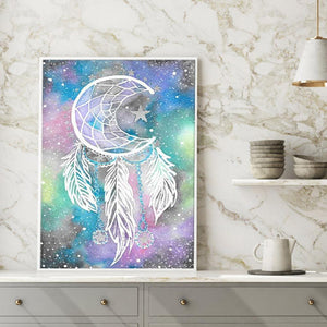 Dreamcatcher Round Full Drill Diamond Painting 30X40CM(Canvas)