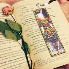 Load image into Gallery viewer, DIY Special Shaped Diamond Painting Leather Bookmark Tassel Book Marks Gift