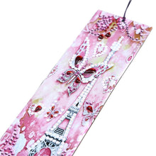 Load image into Gallery viewer, DIY Special Shaped Diamond Painting Creative Leather Tassel Bookmark Crafts
