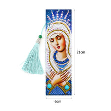 Load image into Gallery viewer, 2x 5D DIY Diamond Painting Leather Bookmarks Goddess Embroidery Page-Marker
