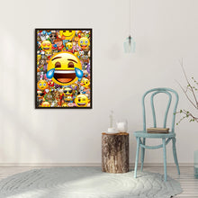 Load image into Gallery viewer, Happy Smile Round Full Drill Diamond Painting 30X40CM(Canvas)