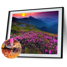 Load image into Gallery viewer, Flowers World Round Full Drill Diamond Painting 30X40CM(Canvas)