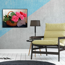 Load image into Gallery viewer, Bunch Flower Round Full Drill Diamond Painting 40X30CM(Canvas)