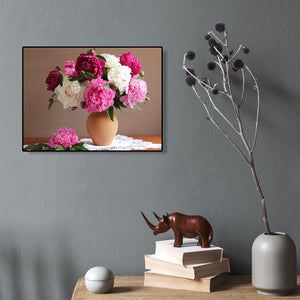 Bunch Flower Round Full Drill Diamond Painting 40X30CM(Canvas)