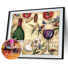 Load image into Gallery viewer, Wine Glass Round Full Drill Diamond Painting 40X30CM(Canvas)
