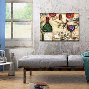 Wine Glass Round Full Drill Diamond Painting 40X30CM(Canvas)
