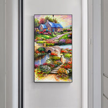 Load image into Gallery viewer, Countryside Landscape Special Full Drill Diamond Painting 45X85CM(Canvas)
