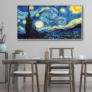 Starry Sky Round Full Drill Diamond Painting 45X85CM(Canvas)