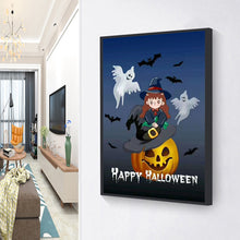 Load image into Gallery viewer, Halloween Round Full Drill Diamond Painting 30X40CM(Canvas)