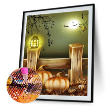 Load image into Gallery viewer, Pumpkin Round Full Drill Diamond Painting 30X40CM(Canvas)