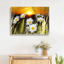 Load image into Gallery viewer, Insect and Flower Room Round Full Drill Diamond Painting 40X30CM(Canvas)