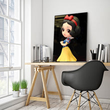 Load image into Gallery viewer, Princess Round Full Drill Diamond Painting 30X40CM(Canvas)