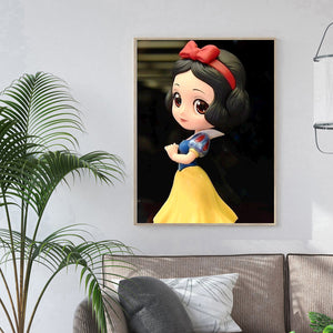 Princess Round Full Drill Diamond Painting 30X40CM(Canvas)