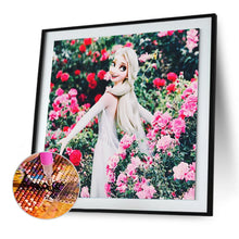 Load image into Gallery viewer, Princess Round Full Drill Diamond Painting 30X30CM(Canvas)