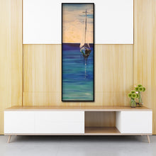 Load image into Gallery viewer, Sailboat Canvas Drawing Round Full Drill Diamond Painting 30X80CM(Canvas)