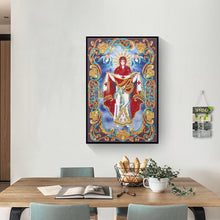 Load image into Gallery viewer, Religion Character Irregular Special Part Drill Diamond Painting 30X40CM(Canvas)