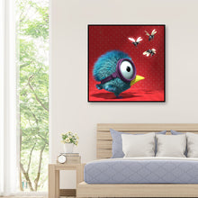 Load image into Gallery viewer, Amazing Bird Round Full Drill Diamond Painting 30X30CM(Canvas)
