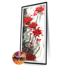 Load image into Gallery viewer, Warm Flowers Round Full Drill Diamond Painting 30X80CM(Canvas)