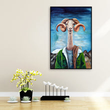 Load image into Gallery viewer, Cartoon Sheep Bead Round Full Drill Diamond Painting 30X40CM(Canvas)