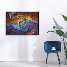 Load image into Gallery viewer, Spiral Peacock Round Full Drill Diamond Painting 40X30CM(Canvas)