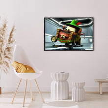 Load image into Gallery viewer, Cartoon Car Round Full Drill Diamond Painting 40X30CM(Canvas)