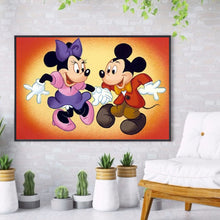 Load image into Gallery viewer, Mouse Partner Round Full Drill Diamond Painting 40X30CM(Canvas)