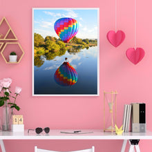 Load image into Gallery viewer, Balloon Landscape Round Full Drill Diamond Painting 30X40CM(Canvas)