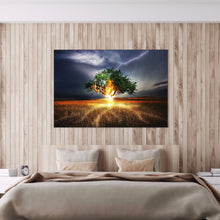 Load image into Gallery viewer, Tree Decoration Round Full Drill Diamond Painting 30X40CM(Canvas)