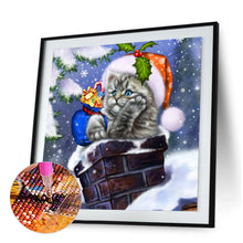 Load image into Gallery viewer, Christmas 5D DIY Full Round Drill Diamond Painting ?Craft Kits (Cat4-W542)