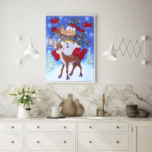 Load image into Gallery viewer, Snowman Special Part Drill Diamond Painting 30X40CM(Canvas)