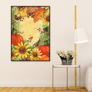 Bird Landscape full round drill Diamond Painting 30*40CM(Canvas)