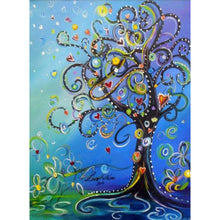 Load image into Gallery viewer, Love Tree full round drill Diamond Painting 30*40CM(Canvas)