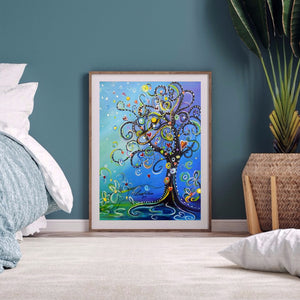 Love Tree full round drill Diamond Painting 30*40CM(Canvas)