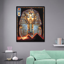Load image into Gallery viewer, Egyptian Portrait 30x40CM(Canvas) full round drill diamond painting